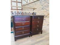 Stag minstrel 4 drawer chest X2