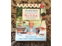 The Great British bake off how to bake hardback book Mary berry