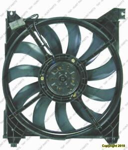 Radiator Cooling Fan Assembly Hyundai Santa Fe 2001-2006