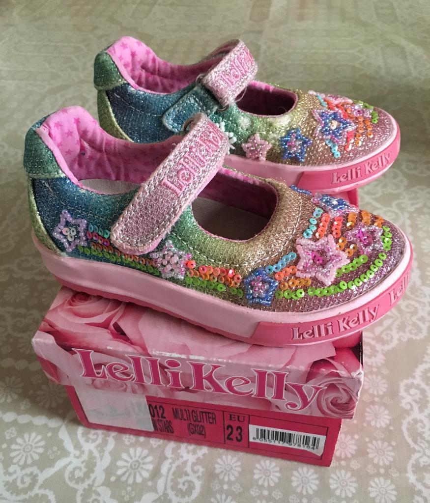 33b4faedcf261 Toddler girl lelli kelly Mary Jane shoes size 23/6 | in Sheffield, South ...