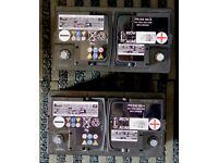 VARTA Leisure Battery AGM 12V 75Ah 800A (2x batteries)