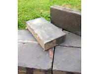Reclaimed Staffordshire Blue Vintage Pavers x 9