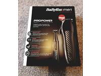 Mens Hair Trimmer (Head) Babyliss Propower Carbon
