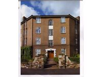 large 2 bed mansion flat for sale 380k kingston area greater london. private grounds.