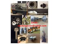 Engineering, Lathe and Milling tasks, Engineering repairs taken on.