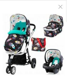 Cosatto giggle 2 travel system - rocket design