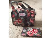 Cath Kidston handbag and matching purse