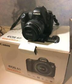 Canon 6D with original box and accessories