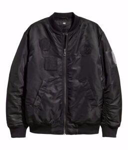 H&M X The Weeknd - Black Bomber