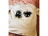 New Eyelash Graphic Tee