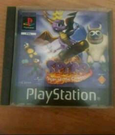 Spyro year of the Dragon ps1 game
