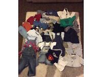 Bundle off 6-9 months baby cloths