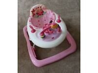 Bright Starts Juneberry Delight Pretty in Pink Walk A Bout (Baby Walker)