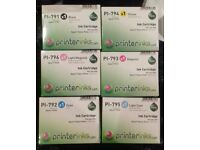 Set of 7 Epsom Stylus Photo 1400/1400 Printer Ink Cartridges