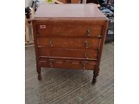 Vintage Art Deco style chest of drawers solid wood project