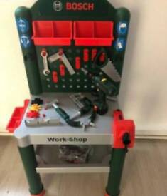 Bosch bench with tools