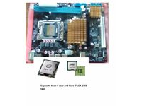 X58 motherboard supports LGA 1366 cpu (NEW UNUSED)