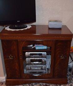 Corner Media Cabinet