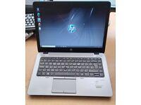 HP EliteBook Laptop, Intel Core i5 Processor, 128GB SSD HDD, 8GB Ram