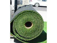Roll of artificial grass, 25 m long x 4 m wide, = 100 sq m, lovely quality 25 mm thick,, £980