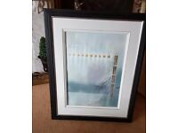 David Dodsworth Gallery framed abstract painting