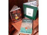 3 Golf Books - Humour