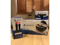 🎅PS4 VR Bundle Amazing experience🎅LIKE NEW