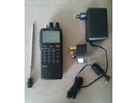 ICOM IC-R20 Handheld Communications Receiver Scanner Radio HF VHF UHF