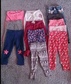 Year to 2year old girls clothes, size 4 shoes