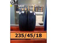 235 45 18 Pirelli Cinturato P7 5mm Fit & Balance