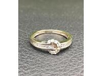 commitment ring 18 carat white gold OFFERS