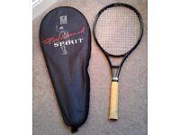 Number one Tennis Racket 9302 graphite 100% + bag.