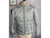 Frank Thomas Lady Rider Aqua Pore silver motorcycle motorbike jacket size 12