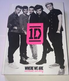 One Direction : Where We Are Official Tour Book