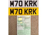 Cherished Personalised Private Registration KIRK