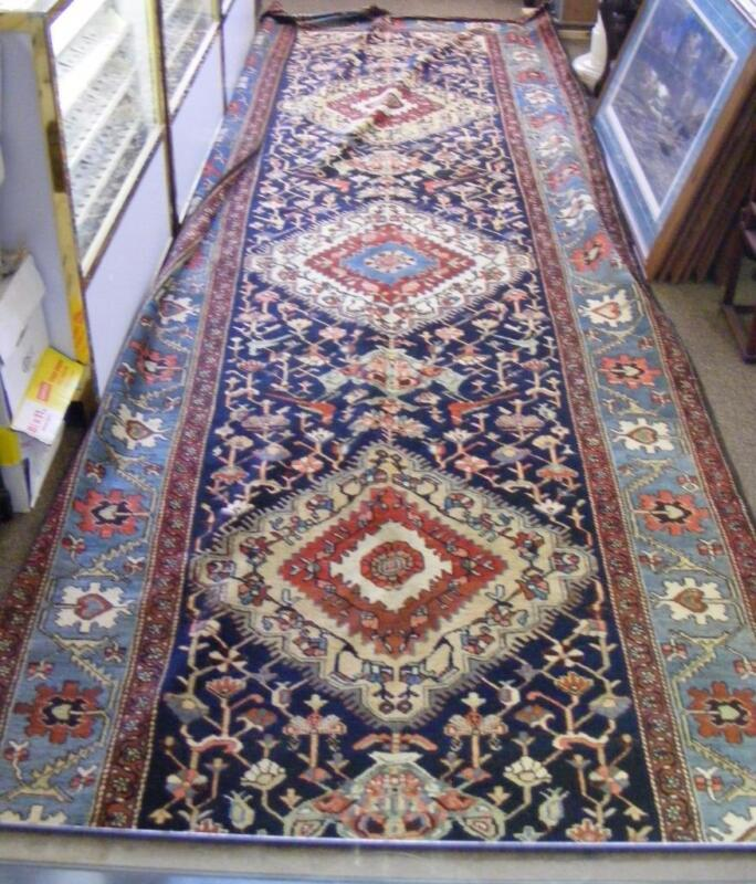 Beautiful Antique Karabagh Hand Knotted Wool Rug  5