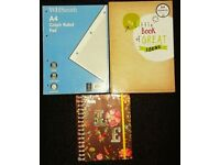 Notebook and Graph book