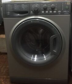 Hotpoint WDAL8640 8+6kg 1400Spin Silver Sensor Dry Washer/Dryer 1 YEAR GUARANTEE FREE FITTING