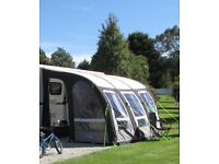 Kampa Rally Air Pro 390 Inflatable Awning 2015, Used Twice Mint Condition