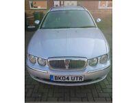 Rover 75 Connoisseur SE 2.0 CDT Tourer BMW engine. Starlight Silver (MBB Colour Code)