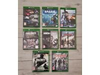 Xbox One Large Games Bundle - Read Description
