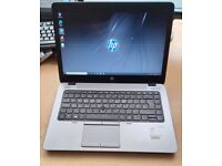 HP EliteBook Laptop, Intel Core i5 Processor, 256GB SSD HDD, 8GB Ram