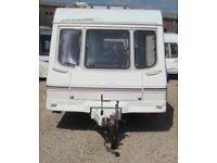 SWIFT CLASSIC SILHOUETTE 2000 2 BERTH CARAVAN
