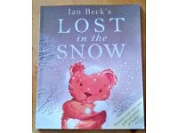 """Ian Beck's """" Lost in the snow"""" children's book"""