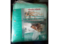 NEW Morphy Richards Electric underblanket double bed size