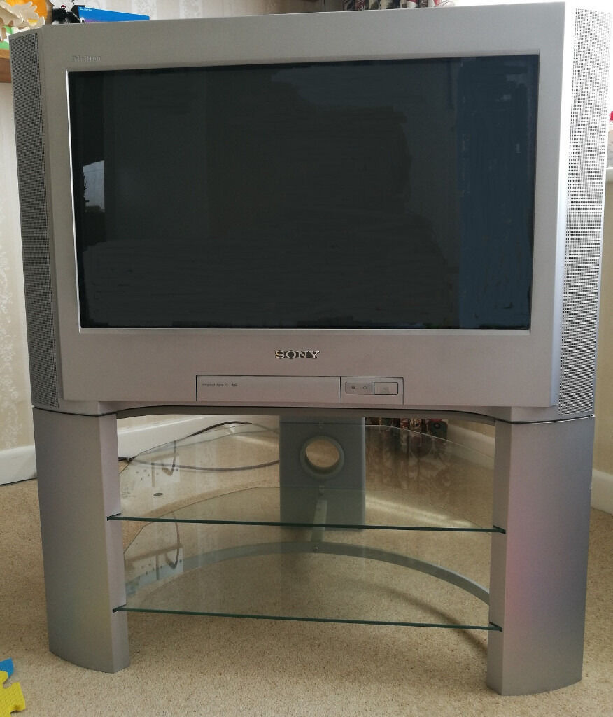 Sony Trinitron 28 U0026quot  Tv And Stand