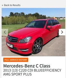 Mercedes-Benz C220 CDI AMG SPORT PLUS
