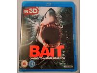 Bait 3D Blu-ray - Used This set contains 1 Blu-ray disc. May play in 2D if you dont have 3DTV