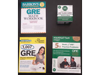 GRE Practice - 3 Books + Set of 500 Flash Cards