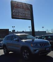 2015 Jeep Grand Cherokee Limited *V6, SUNROOF & 20'S*